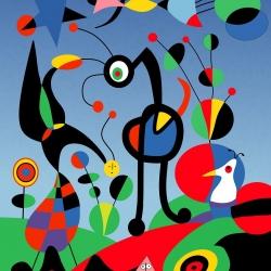 """""""Miró. Il colore dei sogni"""" alla Fondazione Magnani-Rocca"""